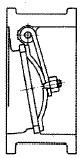 シングルプレート(ウェハー)逆止め弁(シングルプレートチャッキ弁)