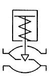 シリンダー式調節弁