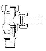 甲形分水栓