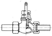 甲形止水栓