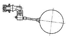 横形ボールタップ